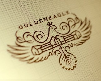 Golden Eagle concept 3 #logo #identity