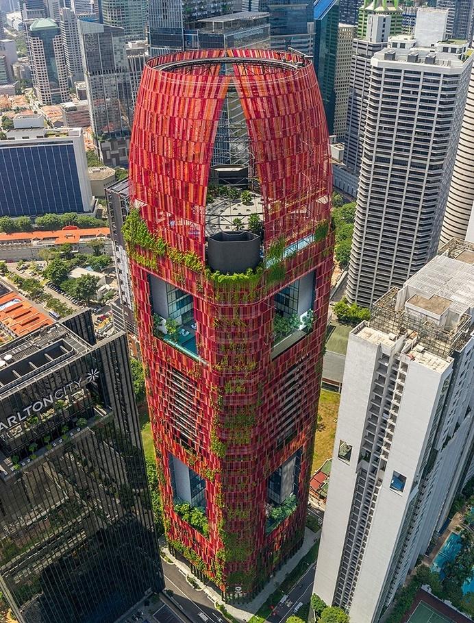 Oasia Hotel Downtown Singapore / WOHA