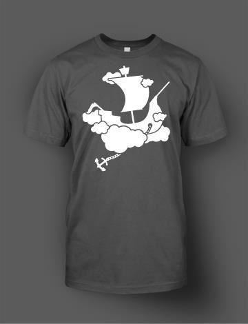 James Michael #cloud #design #sail #romance #illustration #ship #anchor #pirate