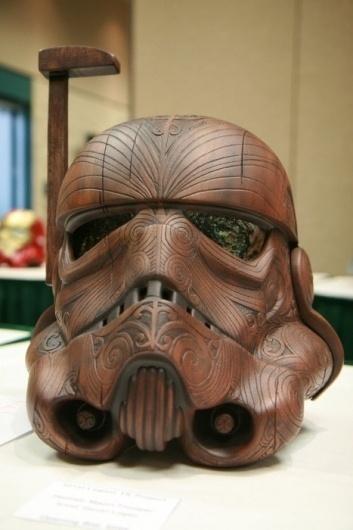 it's designed #george #stormtrooper #wars #wood #star #lucas