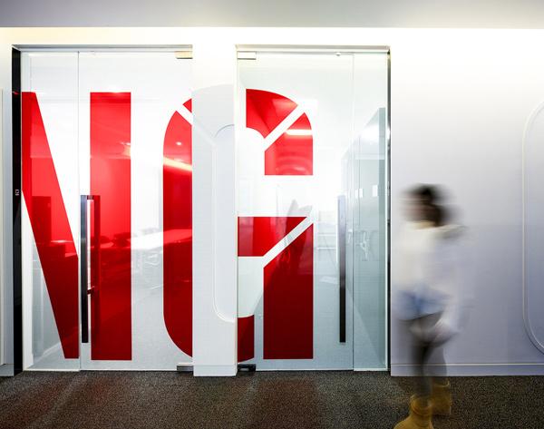 Gensler London Office on Behance #wall graphics