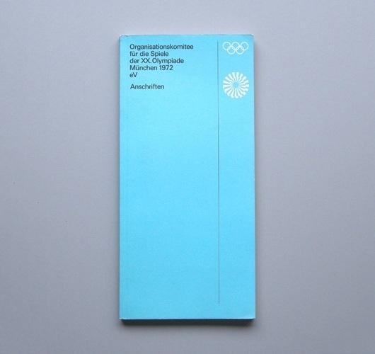 WANKEN - The Blog of Shelby White » Brochures of the 1972 Munich Olympic Games #olympic #otl #1972 #aicher #games #munich #brochure