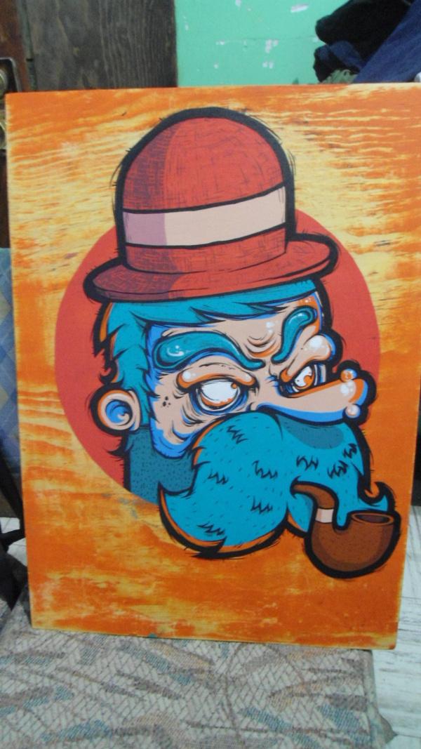 CANVAS en Behance #beard #korcho #ilustracin