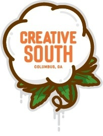 Creative south #vector #branding #south #peach #logo