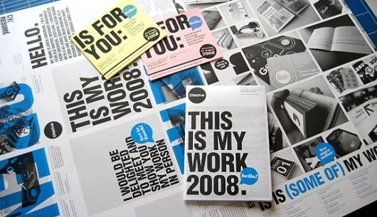 Onestep Creative - The Blog of Josh McDonald #self #print #design #promo #typography