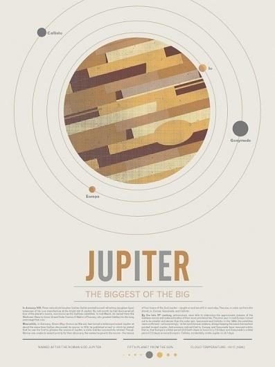 Beyond Earth: A Poster Series by BeyondEarth » Updates — Kickstarter #solar #jupiter #system #poster #planet