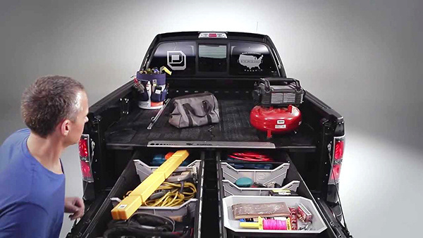 Make use of your trunk's extra space. With this storage, you can bring more items with you anywhere you go. #storage #design #travel #product #industrial