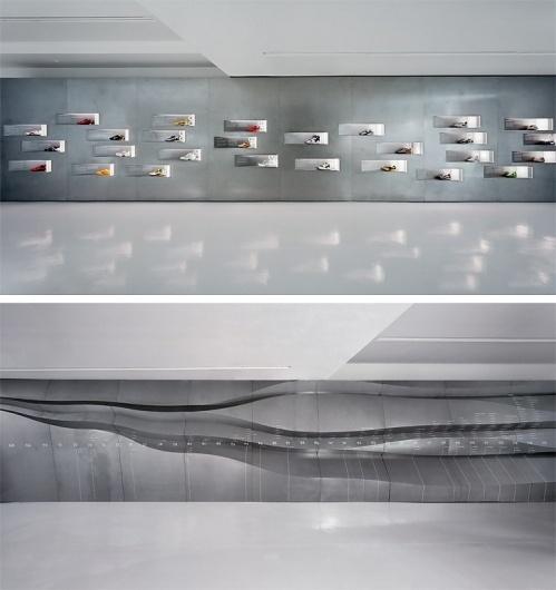 Christopher Stuart Connock Lynch/Eisinger/Design Nike Genealogy of Speed #display #environmental #architecture #exhibit #egd