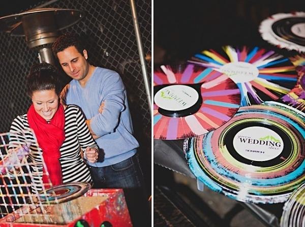 DJ Your Wedding With Scratch Weddings | Green Wedding Shoes Wedding Blog | Wedding Trends for Stylish + Creative Brides #vinyl #art
