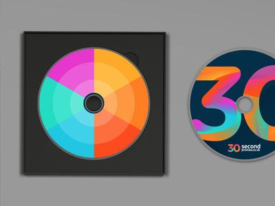 30SP brand development (colour palette) #pattern #branding #palette #brand #identity #logo #colour #cd