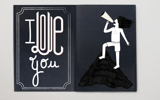 I love you #illustration #lettering #typography