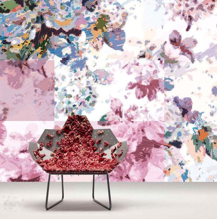 Yoyo Briliant Nonwoven Wallpaperyoyo briliant nonwoven wallpaper #walls #wallcovering #wallpaper #wall decor #home decor