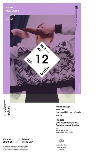 COUTE QUE COUTE: UDK BERLIN (UNIVERSITY OF THE ARTS) PRESENTS »SCHAU12« / 6TH JULY 2012 (RSVP 2ND–4TH JULY) #save #date #serif #sans #the #grid #minimal #poster