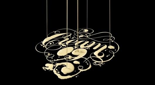 allinthe.name | Identity design and inspiration #cream #illustration #typography