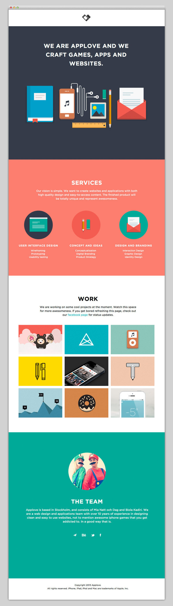 Applove #website #layout #design #web