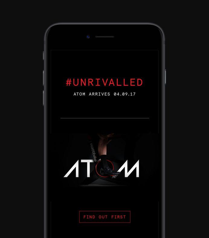 Wattbike Atom newsletter by Onwards