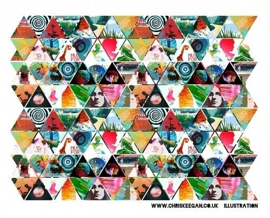 All sizes | tri3 | Flickr - Photo Sharing! #illustration #chris #triangles #keegan