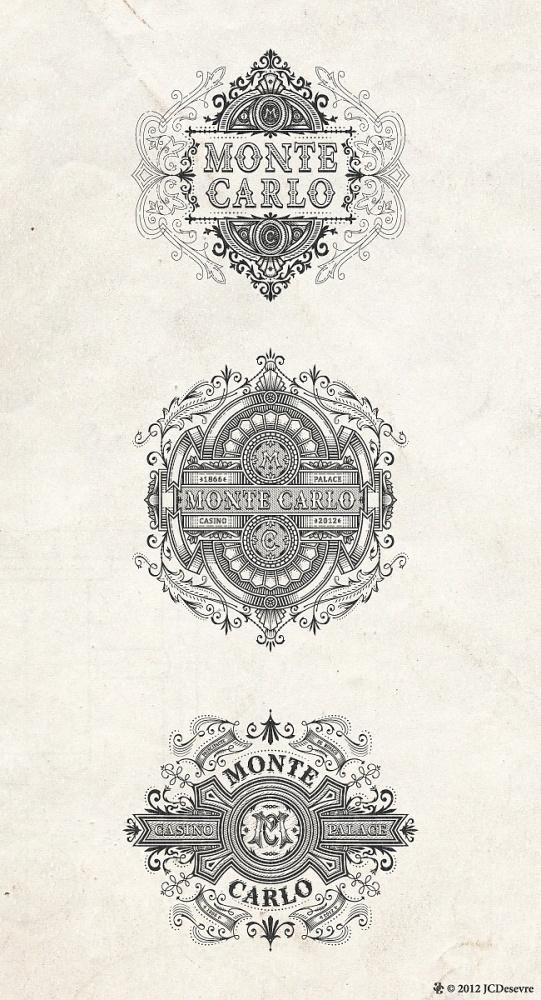 MonteCarlo - JCDesevre #logo #identity #monte #carlo