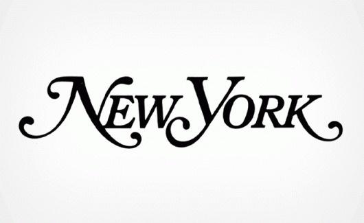 Milton Glaser | The Work | New York Magazine #logo #logotype #trademark