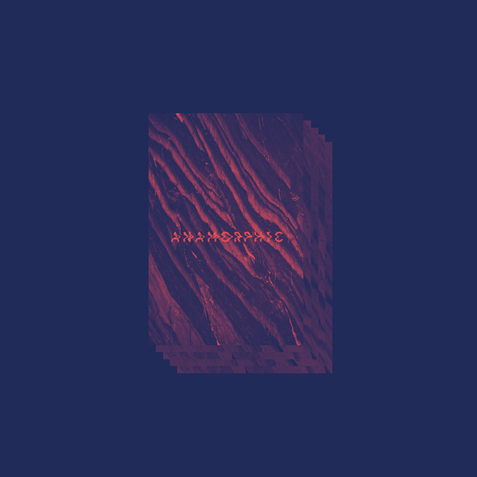 "Almeeva ""ANAMORPHIC"" EP artwork (InFiné) Grand National Studio w/ Gregory Hoepffner #almeeva #anamorphic #infiné #grand national studio #c"