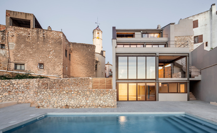 #Architecture #spain #contemporary #modern #pool