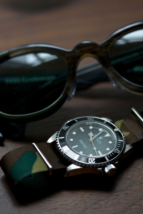 metaphor. #glasses #sun #camouflage #time #watch #rolex