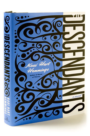 Typeverything.com The Descendants, book cover byde Vicq. #books #typography