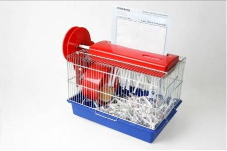 hamster shredder.jpg #shredder