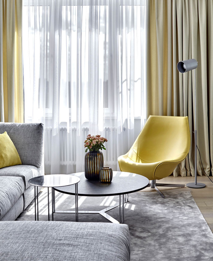 Moscow Apartment by Alexandra Fyodorova - home decor, #decor, interior design, decorating ideas