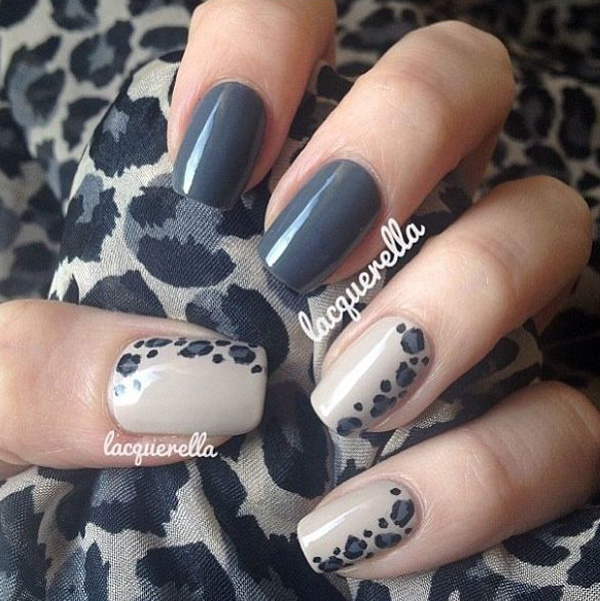 Best Nail Art 35 Gray Designs Images On Designspiration