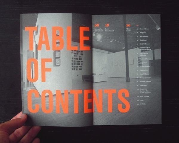 Typeforce Exhibition Catalogue by Darren McPherson #design #graphic