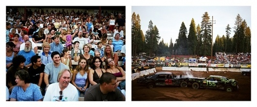 American West : David Torch #west #forest #crowd #demolition
