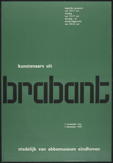Visual Kontakt - Design, Fashion, Photography, Architecture, Illustration and Typography: Poster Design #crowell #william #typography #design #grid #posters #green