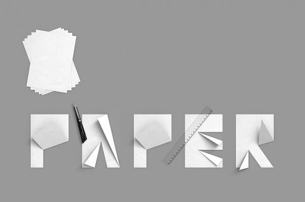 folded paper « konstantindatz.de #type #cut #paper #folded