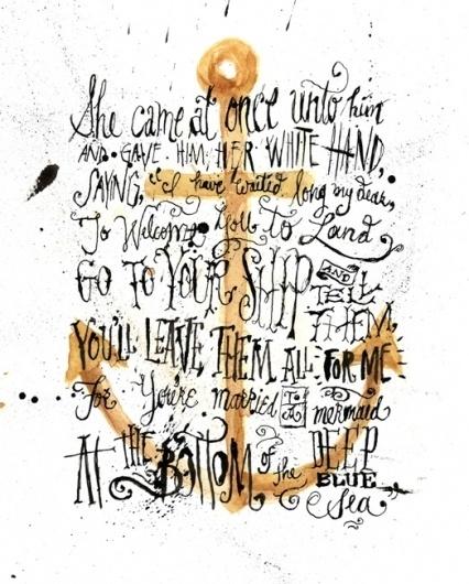 Jon Contino, Alphastructaesthetitologist #anchor #illustration #handwritten #typography