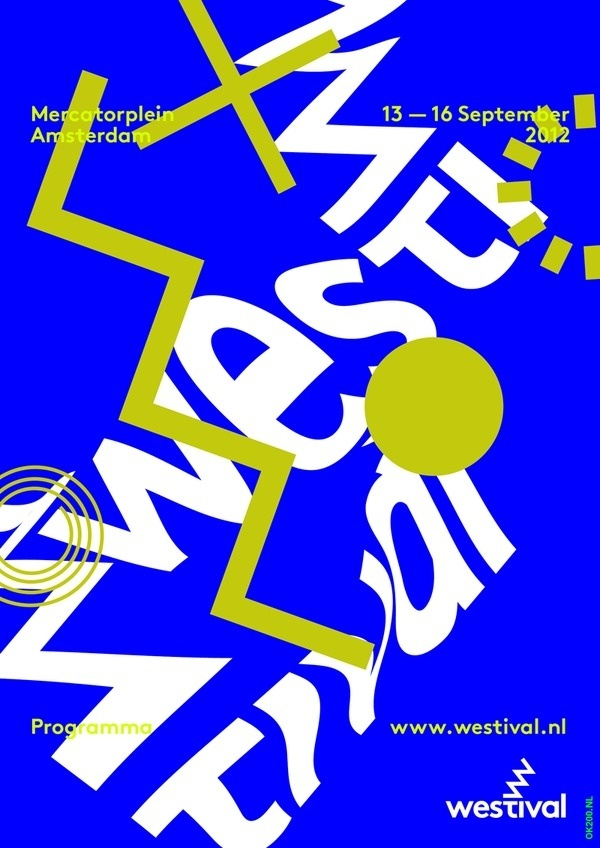 Westival poster sketch 1 #design #poster #typography