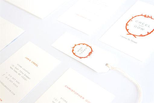 creelandgrow_02 #orange #identity #branding #stationery