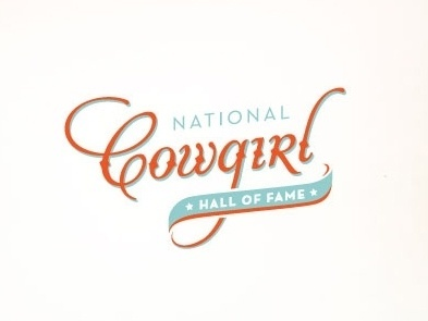 Dribbble - Cowgirl Hall of Fame by Anna #logo #lettering #typography