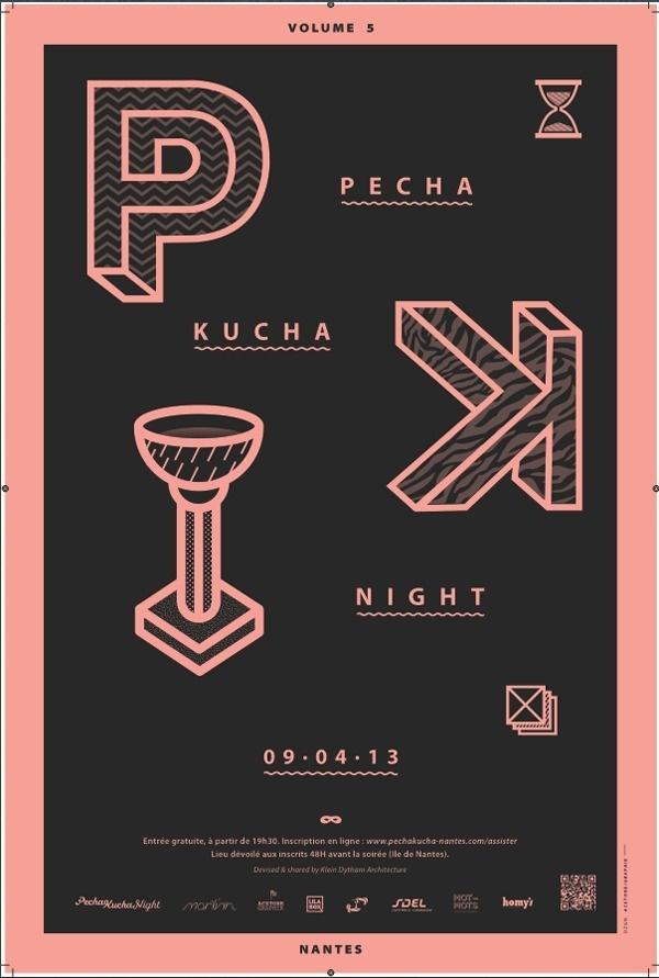 PECHA KUCHA NIGHT #kucha #pecha #night #poster