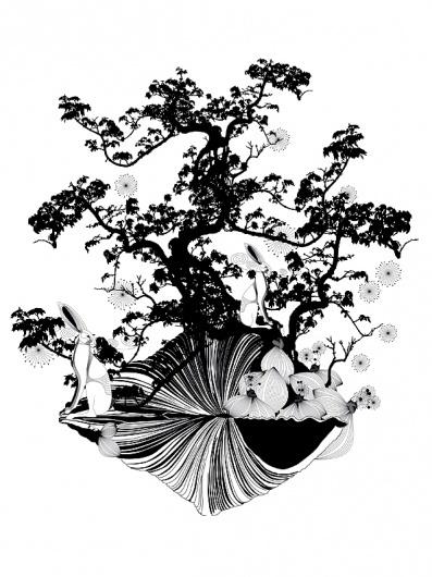 mittelland : orient #fellerer #design #illustration #marge #rabbit