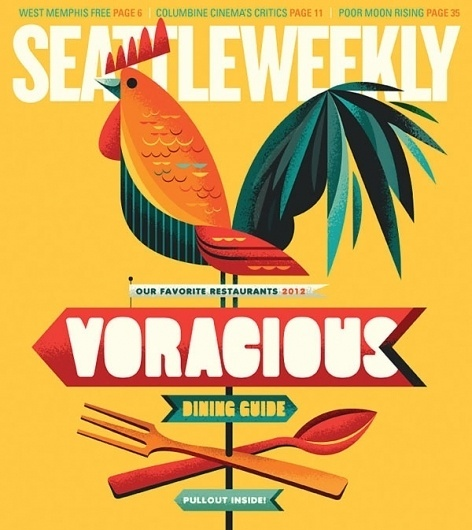 Eight Hour Day » Blog #seattle #voracious #color #weekly #illustration