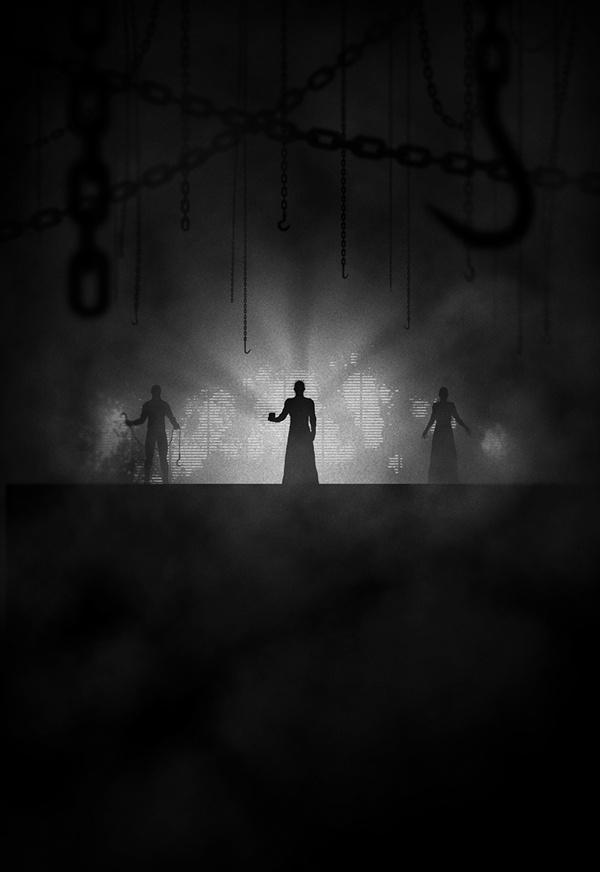 Noir Series Vol. 2 #illustration #noir #white #black