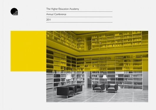 Daniel Gray - Blog - HEA Conference Handbook #design #graphic #book #cover #education