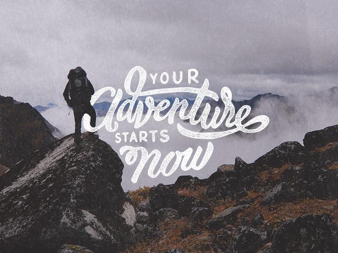 Handlettering: Adventure