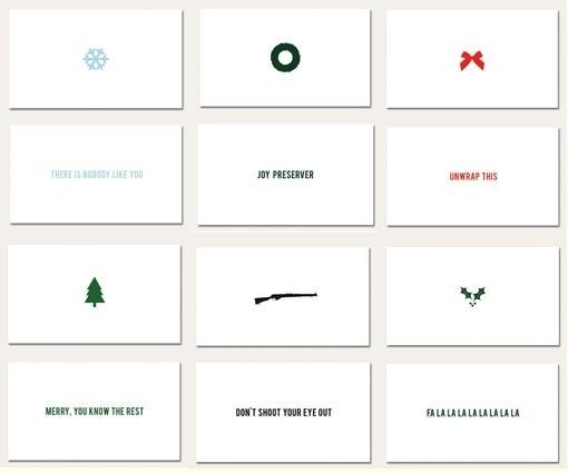 design work life » cataloging inspiration daily #christmas #card #print