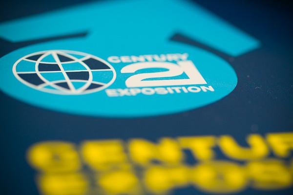 Seattle World's Fair Platter | three steps ahead — perspectives #plate #seattle #platter #expo #worlds #fair #century #21 #exposition