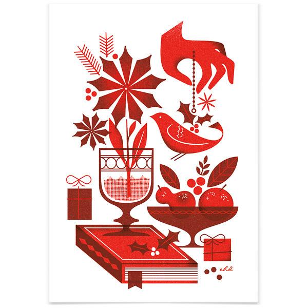 1326401098HolidayCard_3 #illustration #holiday