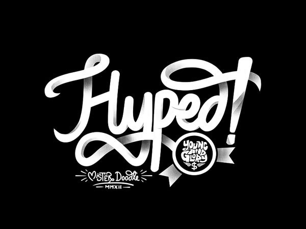Hyped! by Mister Doodle