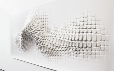 Ora-ïto's concept for Wallpaper* and Reebok - Creative Journal #ora #sculpture #ito #wall #organic