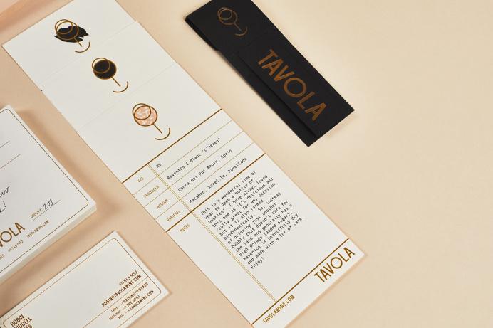 Tavola identity by Peck & Company